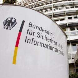 Eingang Gebäude BSI (Bundesamt für Sicherheit in der Informationstechnik)