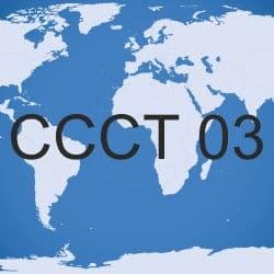 Logo der Wissenschaftskonferenz Computer Communication Control Technologies (CCCT 2003)