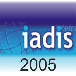 Logo International Association for Development of the Information Society (iadis 2005)