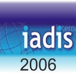 Logo International Association for Development of the Information Society (iadis 2006)