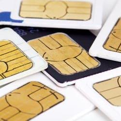 Foto von SIM-Karten eSIM für Smartphone, iPhone, Android von Mobilfunkbetreiber